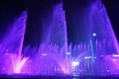 Music Fountain, Chongqing, China Royalty Free Stock Photography