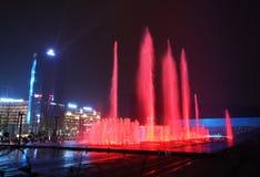 Music Fountain, Chongqing, China Royalty Free Stock Images