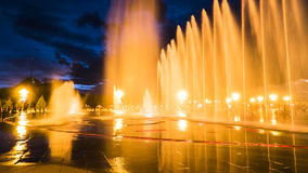 Music fountain Royalty Free Stock Photos