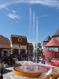 Music Fountain Show at Mimoza Shopping Area at Pattaya, Thailand Royalty Free Stock Photography