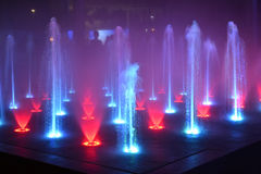 Music fountain,singing fountain  Stock Photography