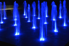 Music fountain,singing fountain Royalty Free Stock Image