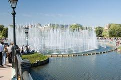 Music fountain in Tsaritsino Stock Photography