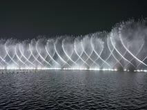 Music fountain westlake xihu hangzhou Stock Images