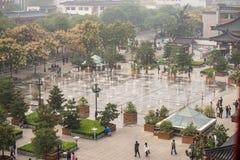 Music fountain - Xian, China Royalty Free Stock Photo