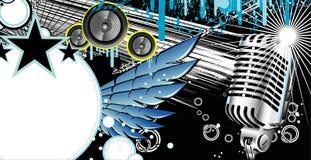Music Frame Background Royalty Free Stock Photo