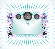 Music Frame Background Royalty Free Stock Images