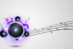 Music Funky Background Royalty Free Stock Image
