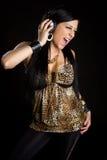 Music Girl Royalty Free Stock Photos