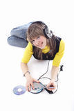 Music_girl Stock Images