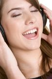 Music Girl Royalty Free Stock Images