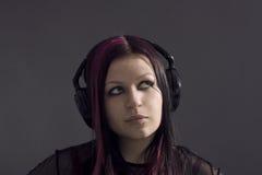 Music-girl Royalty Free Stock Image
