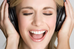 Music Girl Stock Images