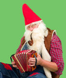 Music gnome Royalty Free Stock Images