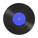 Music gramophone disk Stock Photos
