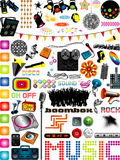 Music Graphics Royalty Free Stock Photography