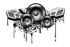 Music grunge Stock Photography