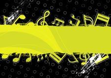 Music grunge artwork design Royalty Free Stock Photos