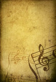 Music grunge backgrounds Stock Photography