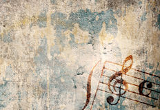 Music grunge backgrounds Royalty Free Stock Photos