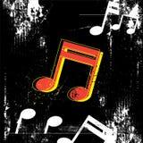 Music grunge design Stock Photography