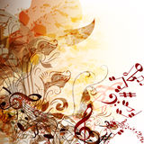 Music grunge futuristic background for your design Stock Photography