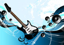 Music Guitar Abstract Royalty Free Stock Photography
