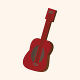 Music guitar theme elements vector,eps Royalty Free Stock Photography