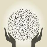 Music hand4 Royalty Free Stock Photo