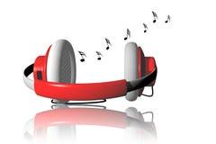 Music Headphone. Stock Photography