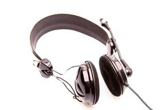 Music Headphone. A headphone for communication or entertainment Royalty Free Stock Image