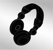 Music headphone icon Stock Image