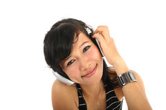 Music and headphones Royalty Free Stock Photos