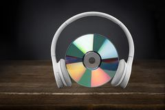 Music Headphones Royalty Free Stock Images