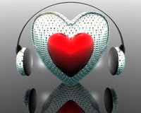 Music of the heart Royalty Free Stock Images