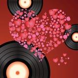 Music heart Stock Image
