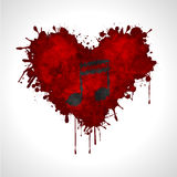 Music in the heart Stock Image