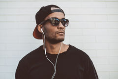 Music is his life. Stock Image