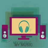 Music for home Royalty Free Stock Photo