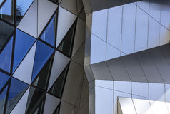 Music house Denmark Aalborg Landmark operahouse Stock Photos