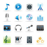 Music icon Stock Photo