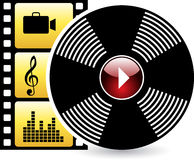 Music icon Royalty Free Stock Photos