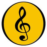 Music icon. Vector illustration stock illustration