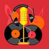 Music icon collection Royalty Free Stock Image