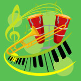 Music icon collection Stock Images