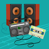 Music icon collection Stock Image