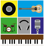 The Music Icon Stock Images
