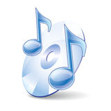 Music icon Royalty Free Stock Image