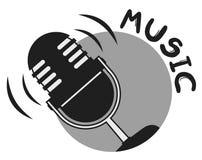 Music icon Royalty Free Stock Photos