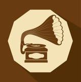 Music icon design Royalty Free Stock Photo